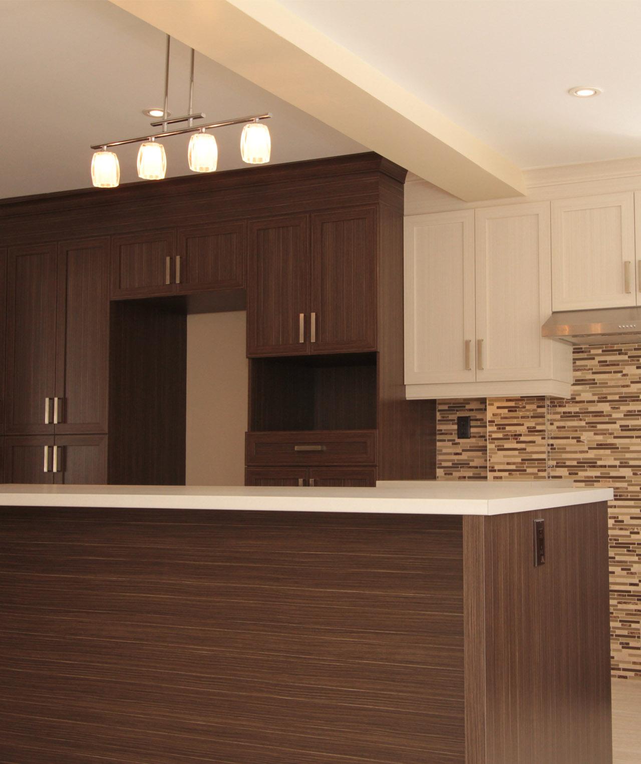 armoires de cuisine de m lamine et r novation cuisine mt. Black Bedroom Furniture Sets. Home Design Ideas