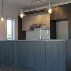 armoire de cuisine m lamine. Black Bedroom Furniture Sets. Home Design Ideas